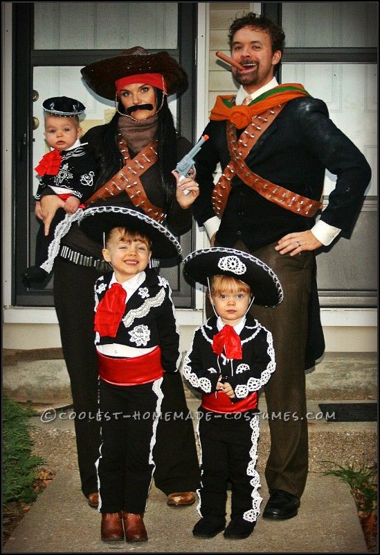 diy family three amigos costume halloween costume contest