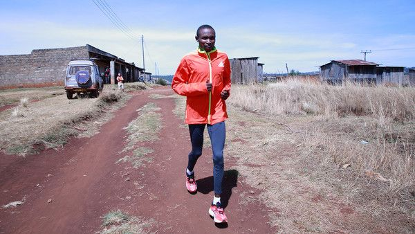 This is a story about endurance. A skinny 18-year-old kid from a dirt-poor family in thin-aired, equatorial Kenya, with no prospect of wealth or even comfort in his adult life, who did not wear shoes until his mid-teens, decides to become a