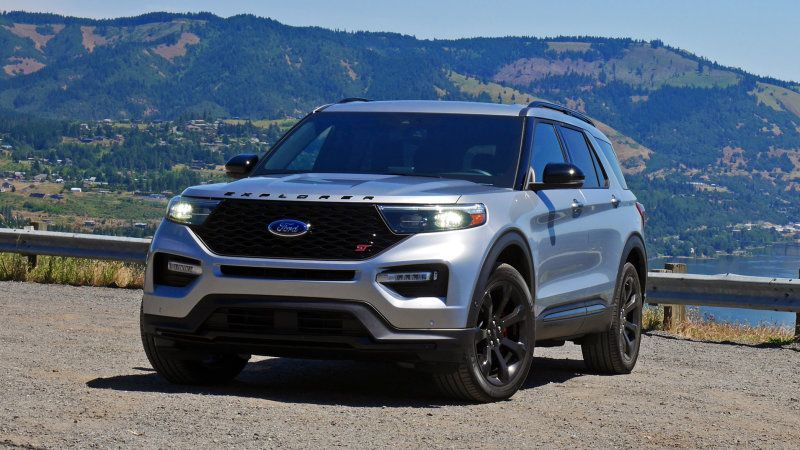 2020 Ford Explorer St First Drive Review 2020 Ford Explorer
