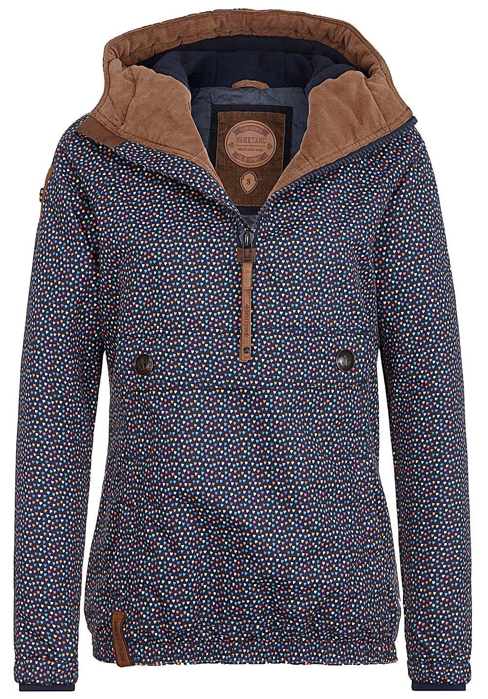 ea997d8e698a Naketano Freedom Got A Shotgun - Jacke für Damen - Blau Jetzt bestellen  unter  https