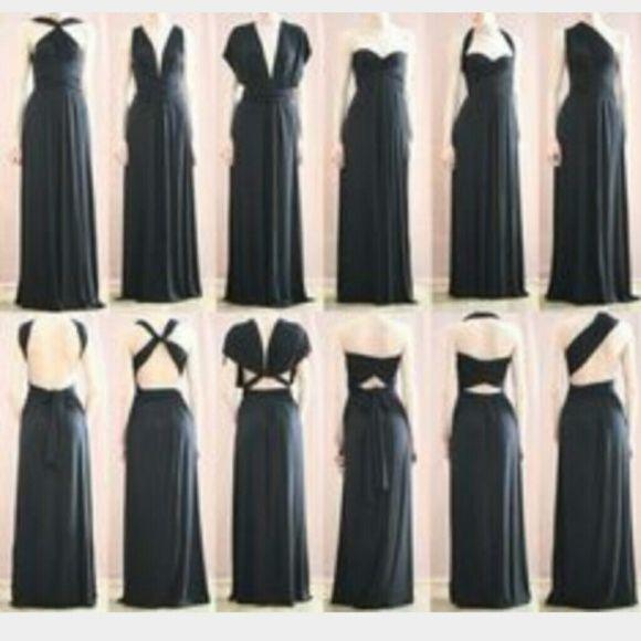 Von Vonni Transformer dress Black Gorgeous, sexy, classy