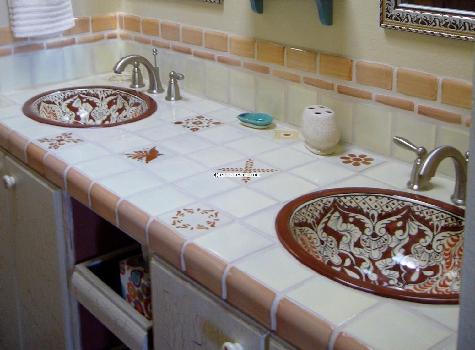 Dark Brown Mexican Tiles Mexican Talavera Mud Bullnose Tile