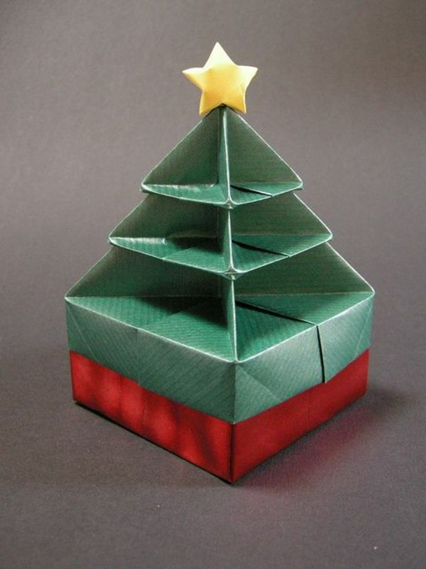 100 originelle Origami zu Weihnachten! - Archzine.net