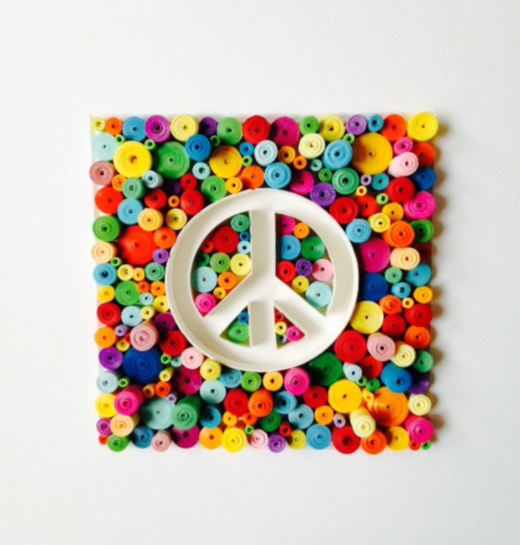 Rainbow Peace Dimensions Needlecrafts Learn A Craft