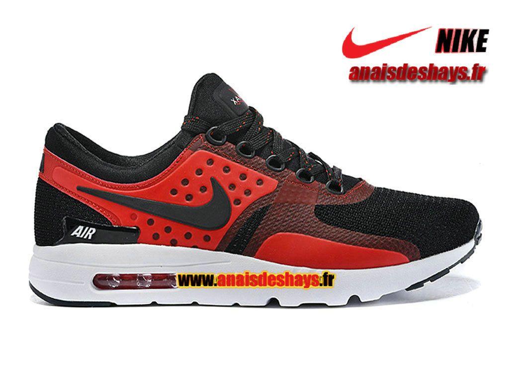 Boutique Officiel Nike Air Max Zero (Taille Homme) Noir/Rouge-Blanc 789695
