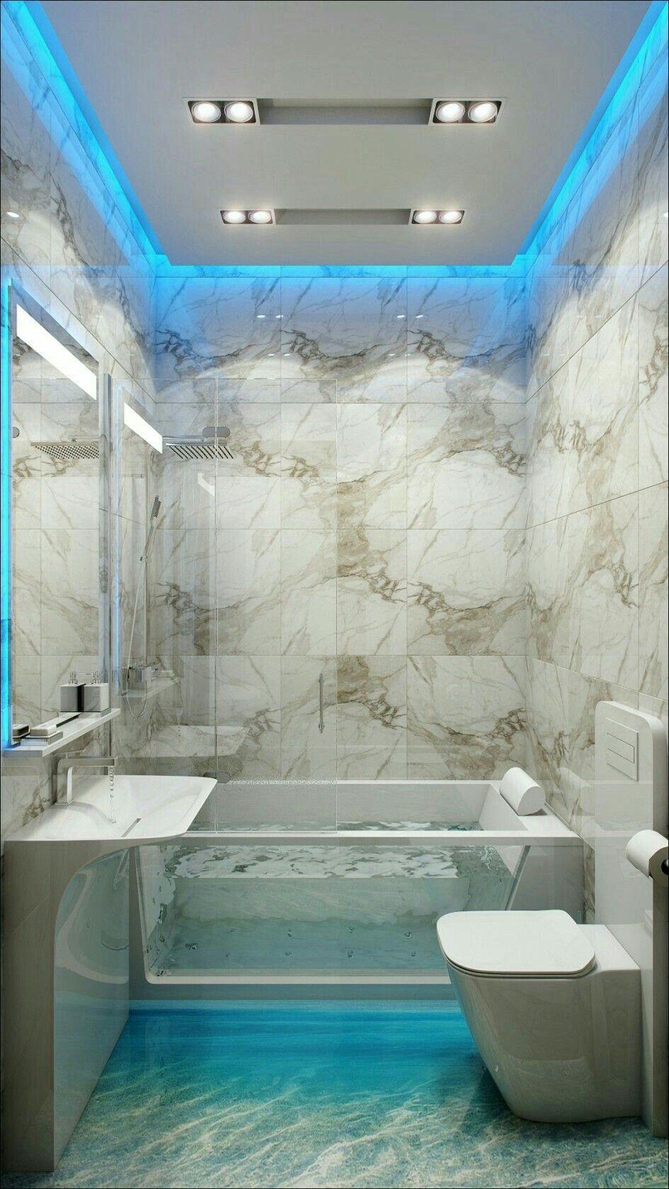 Bathroom | design | Pinterest | Strip lighting, Small house plans ...