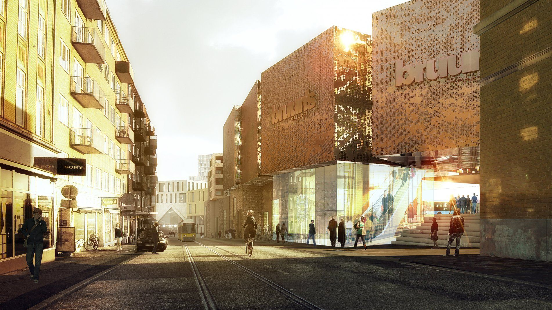 COBE - Aarhus central station area | rendering support ...