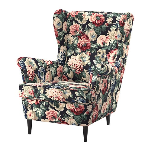 Strandmon Wing Chair Ikea You Can Really Loosen Up And Relax