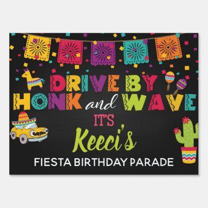 Car Parade Yard Sign - Fiesta | Zazzle.com