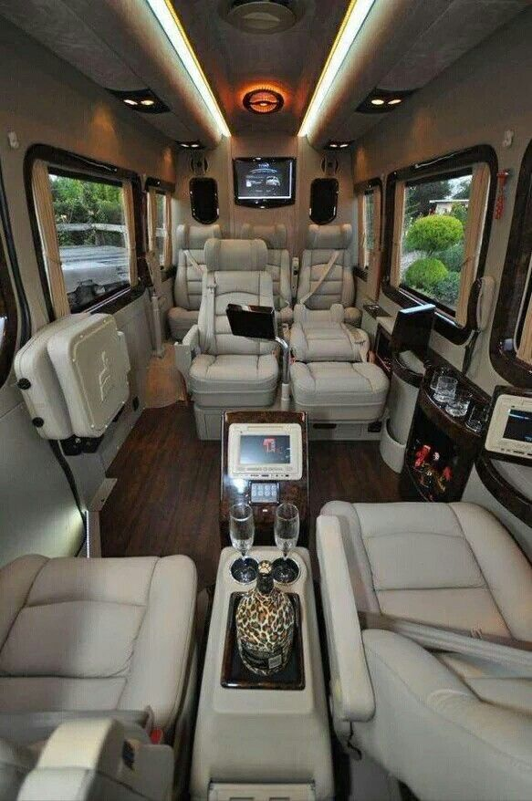 Mercedes Benz Van Interior