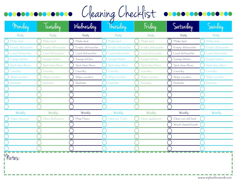 Cleaning Checklist Free Printable Free Printable Cleaning House Cleaning Checklist Cleaning Schedule Templates
