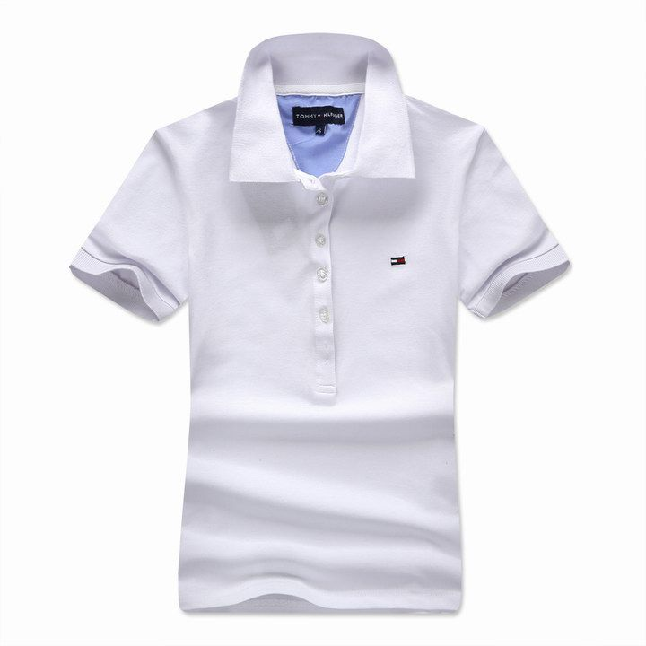 Tommy Hilfiger UK Women's Slim Fit Short Sleeve Polo Shirt In ...