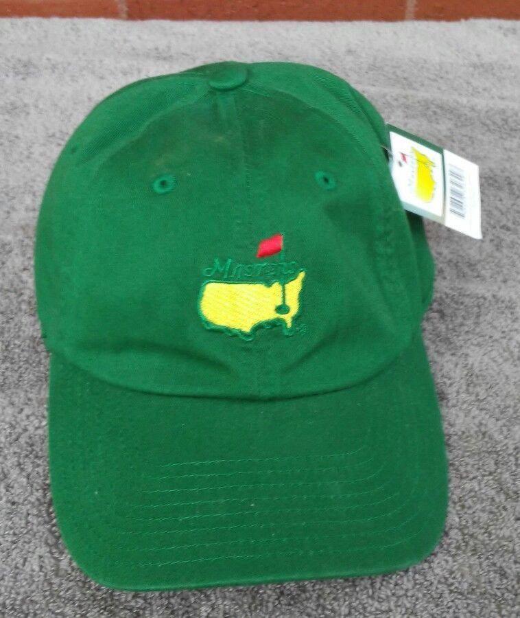 The Masters Hat Cap Augusta Georgia Golf tournament Green Cap Masters Logo   AmericanNeedle  BaseballCap  LearnToPlayBetterGolf af884487df1