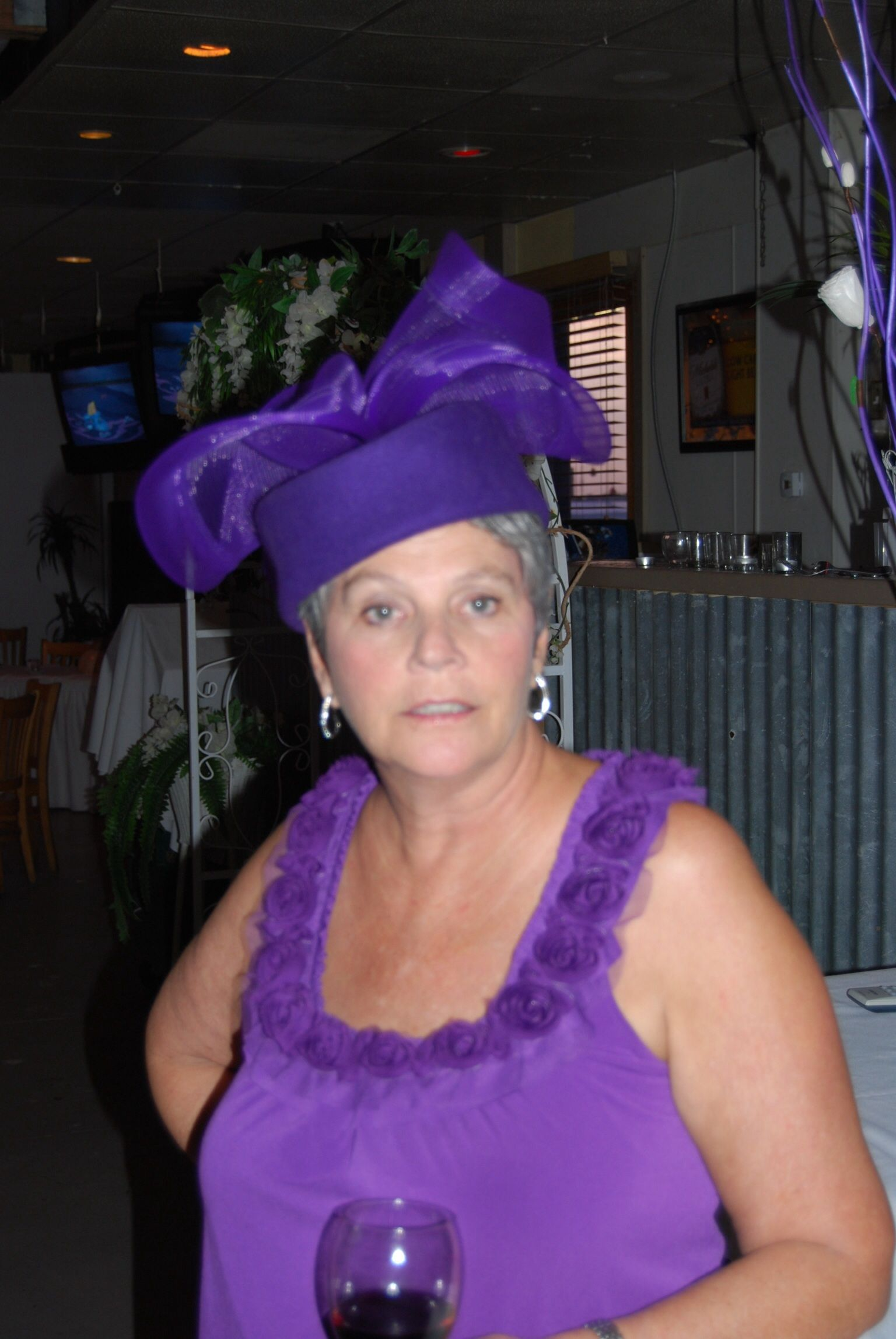 When I am an old woman, I shall wear purple! Old women