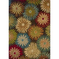 "Oriental Weavers Emerson Contemporary Brown/Beige Area Rug 3'10"" X 5'5"" - 748679327270"