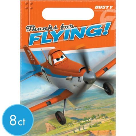 Planes Favor Bags 8ct - Party City