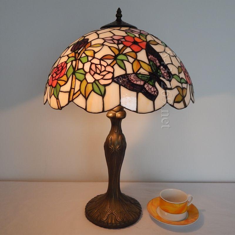Butterfly Tiffany Lamp 16s5 8t311 Met Afbeeldingen