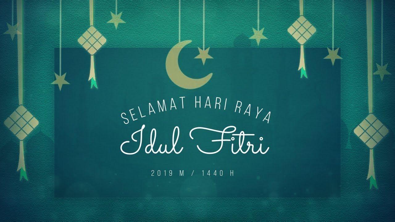 Kata Kata Mutiara Idul Fitri 2019 1440h Video Kartu Ucapan