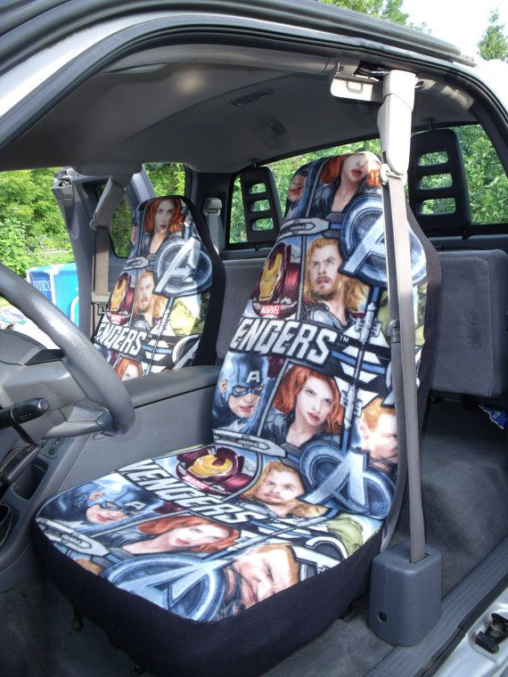 Avengers Fleece Car Seat Covers And Steering Wheel Cover So Great I Still Love Them