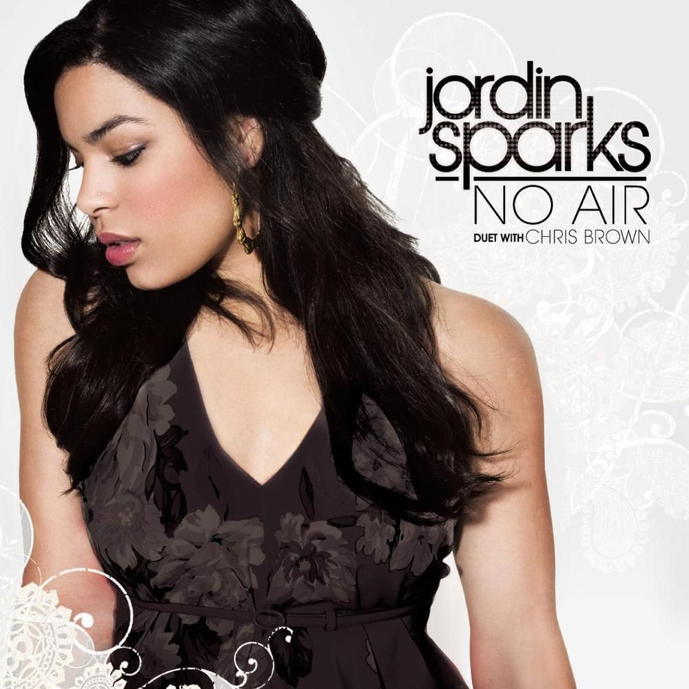Jordin Sparks, Chris Brown – No Air (single cover art)