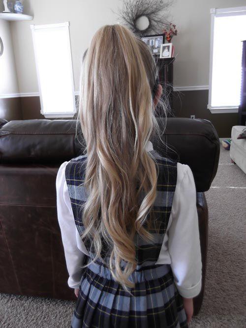 Top 13 Trendy Hairstyles For Kids | Hair styles, Long hair ...