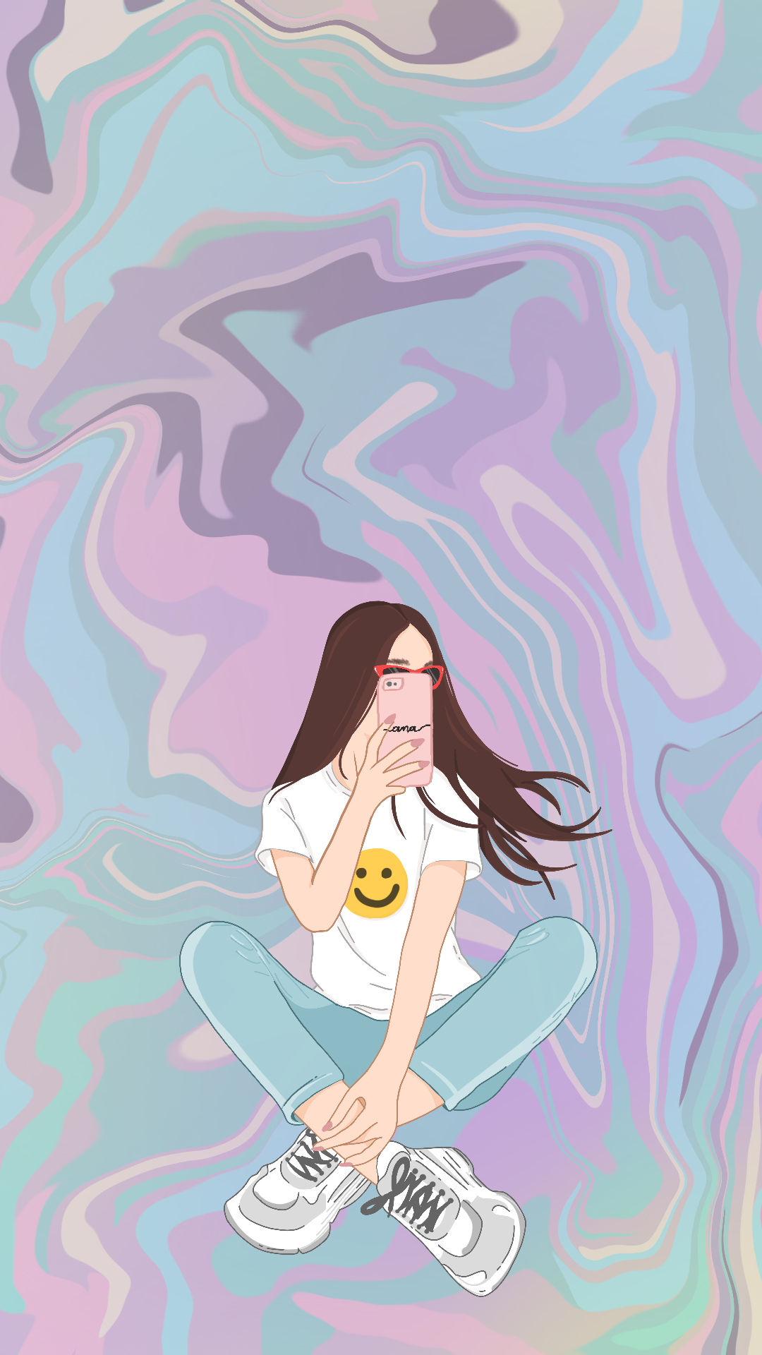 Wallpaper Hologirl 2 by Gocase