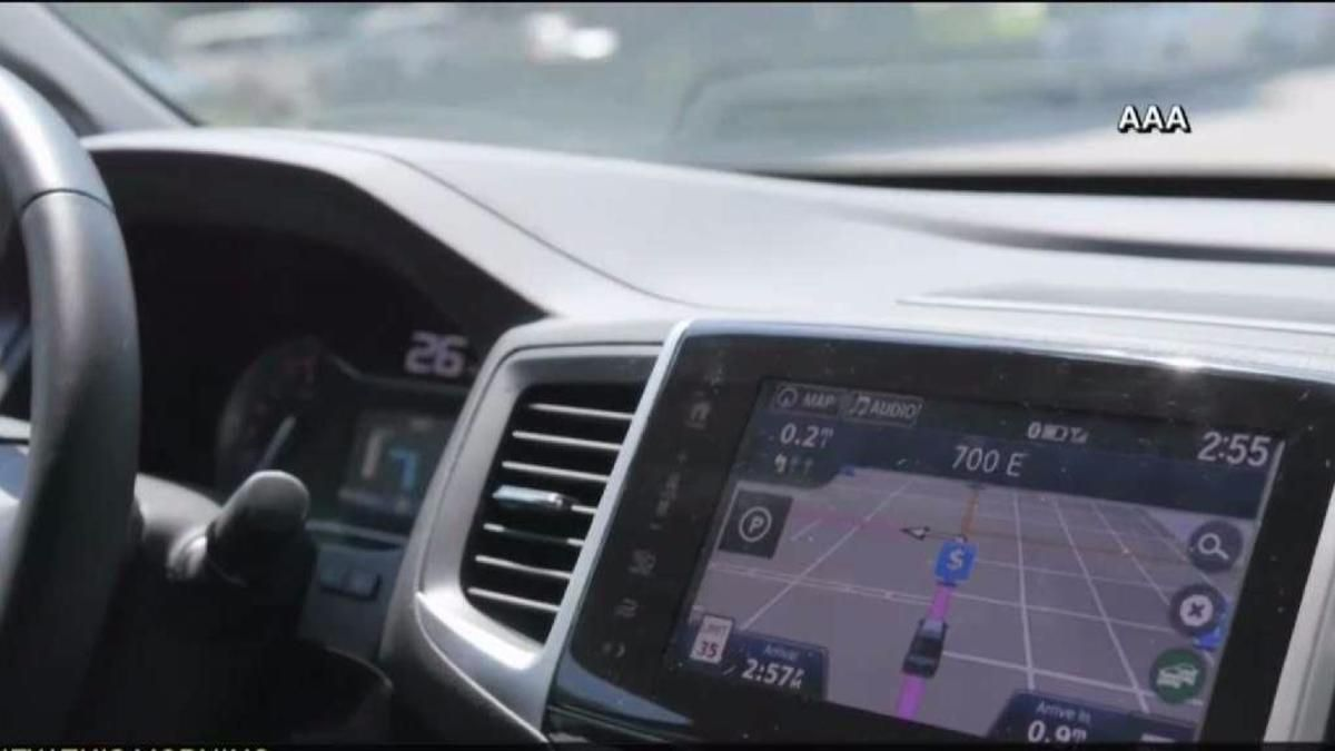 Dashboard Devices Causing More Distracted Driving AAA