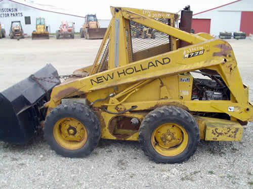 Used New Holland L775 Skid Steer Loader Parts