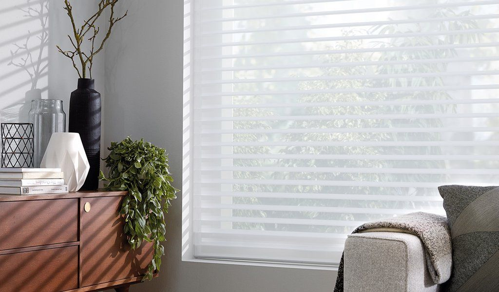 Luxaflex Silhouette Shades Motorized Blinds Curtains Blinds