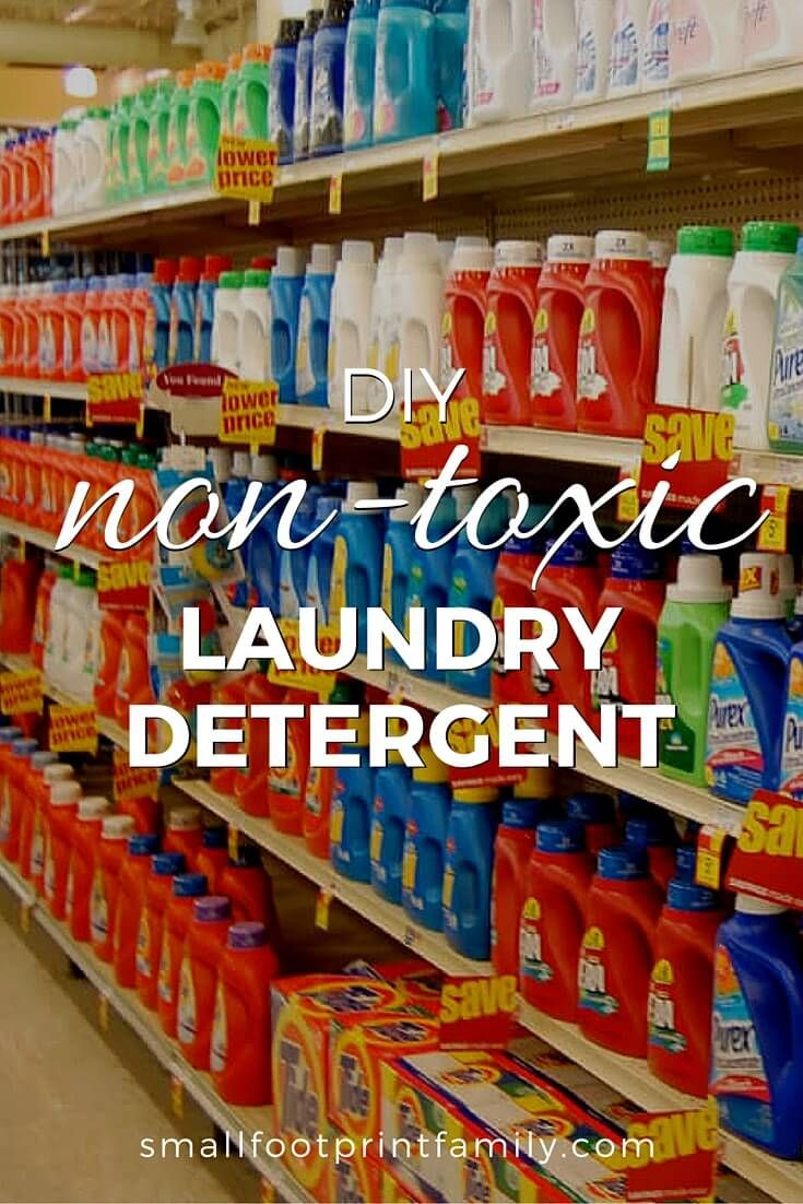 Homemade Non Toxic Laundry Detergent Laundry Detergent Homemade