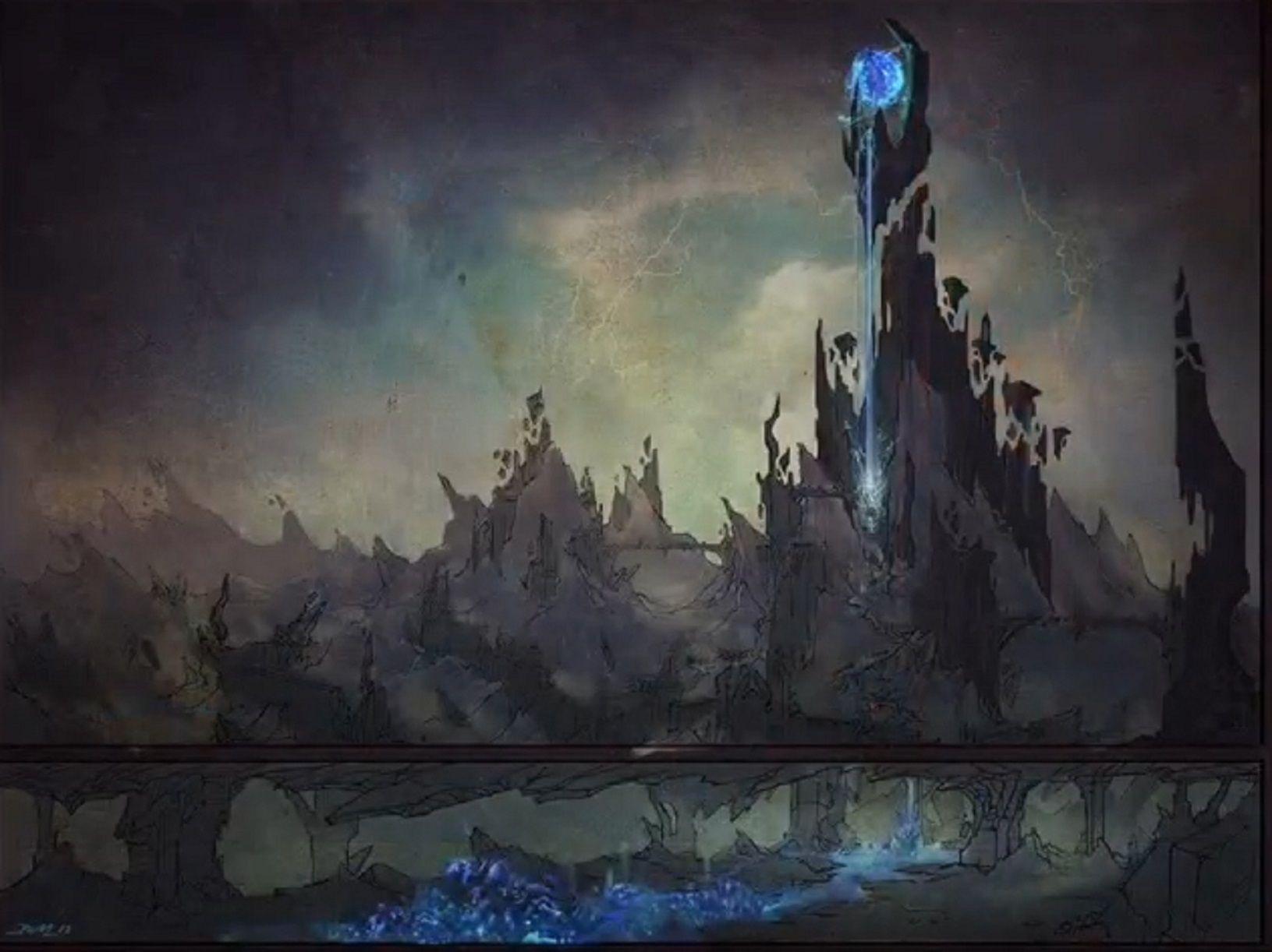 Evil spire (Gehenna, Lower Planes) | D&D Campaign ...