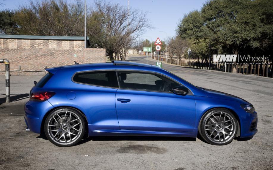 Vmr Wheels Vw Scirocco Blue V710 20 Gunmetal 2577 V Dubs