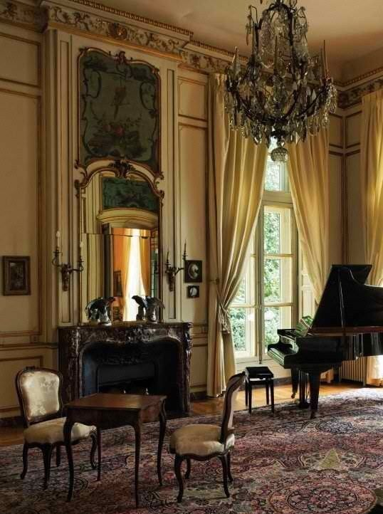 Historic Houses of Paris: Residences of the Ambassadors by Stella, Alain And Hammond, Francis, Flammarion, Paris. Many historic homes in Paris serve as residences to foreign ambassadors; these historical sites are closed to the general public.  here:Hotel de Besenval (Swiss Confederation)