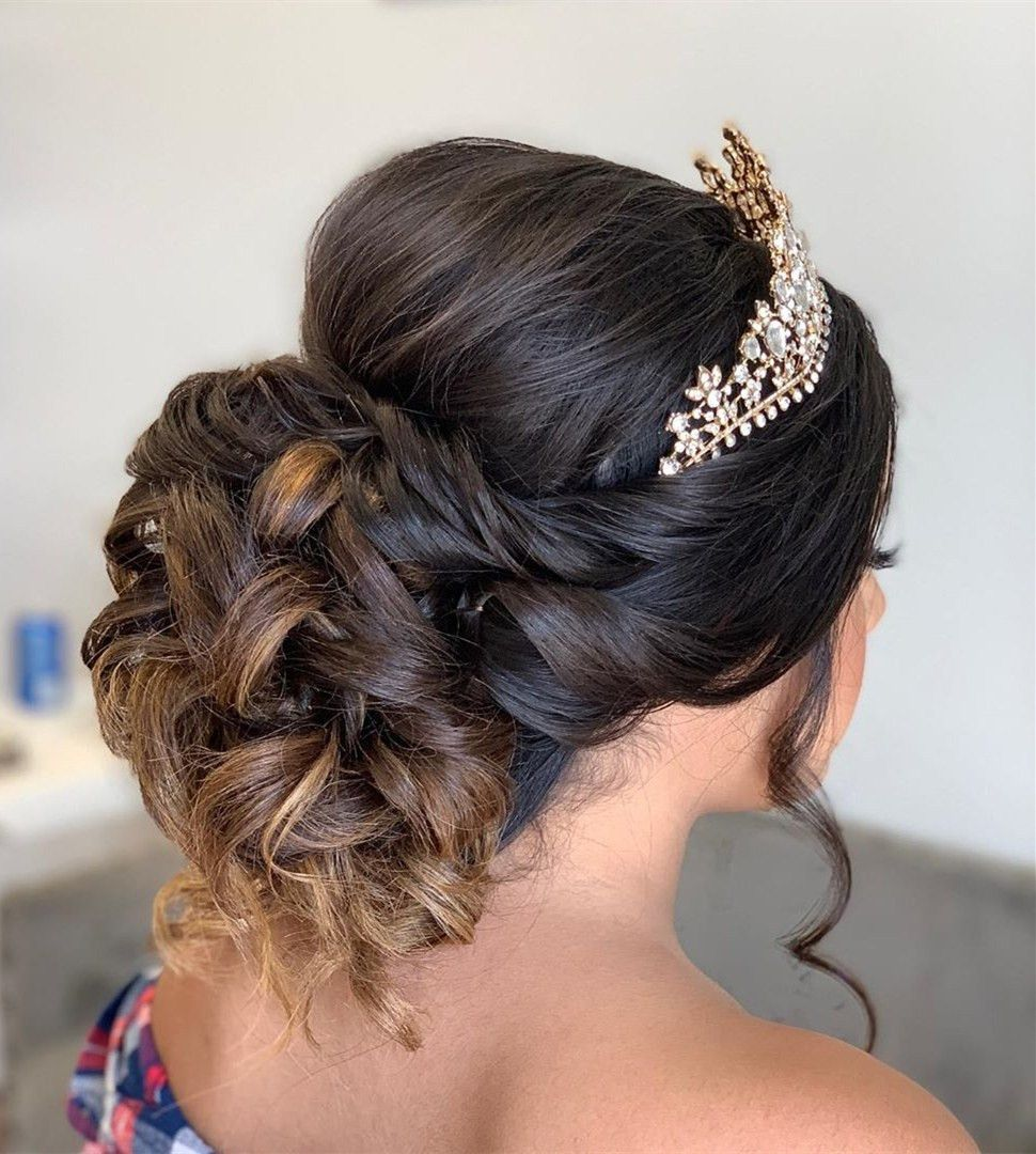 40 Best Quinceanera Hairstyles For Your Big Day In 2020 Hair Styles Quinceanera Hairstyles Stylish Hair