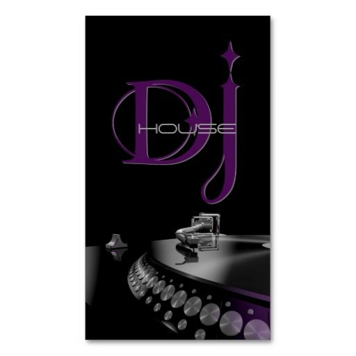 Dj music entertainment business card dj music dj and business dj music entertainment business card reheart Image collections