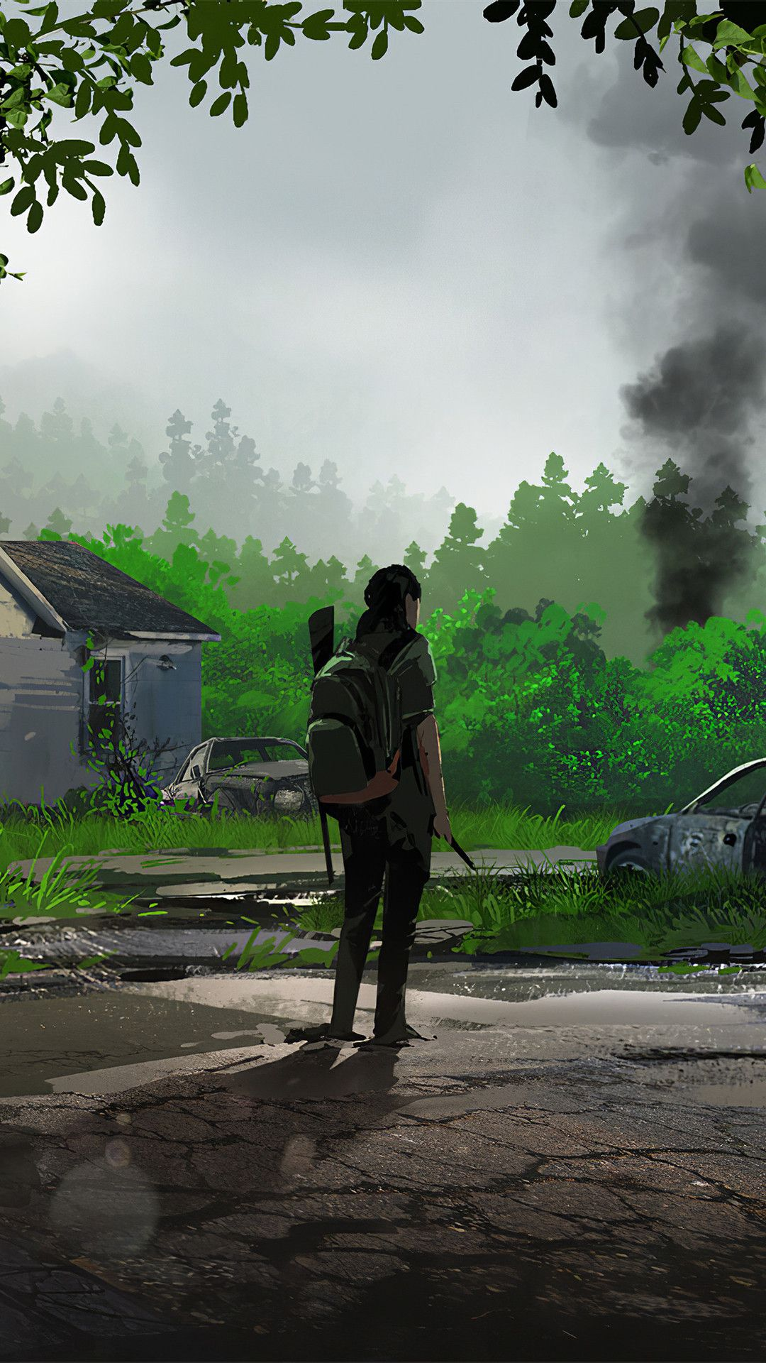 The Last Of Us Part Ii Fan Art Mobile Wallpaper Iphone Android Samsung Pixel Xiaomi Em 2020 Papeis De Parede De Jogos Imagens Aleatorias Arte De Jogos