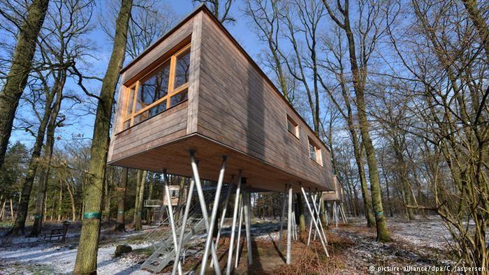 Ein Haus Auf Stelzen Im Resort Bettgeflüster In Bad Zwischenahn
