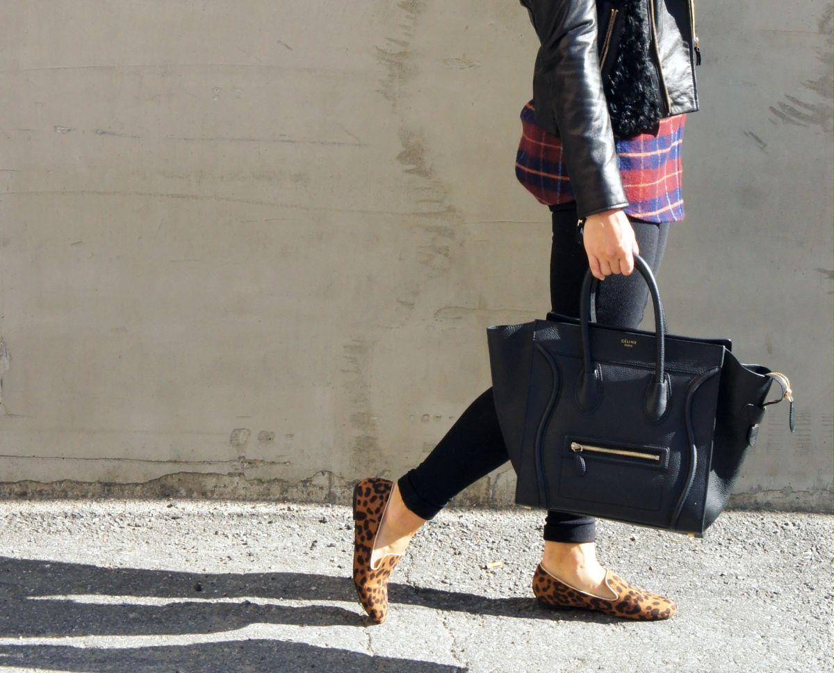 Celine bag and leo shoes <3