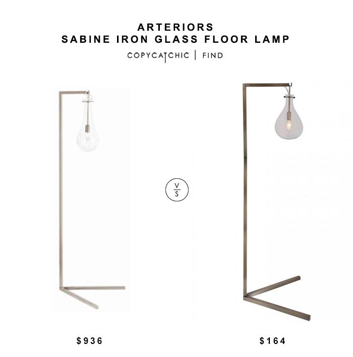 Arteriors sabine iron glass floor lamp for 936 vs home decorators arteriors sabine iron glass floor lamp for 936 vs home decorators cloister floor lamp for 164 aloadofball Images