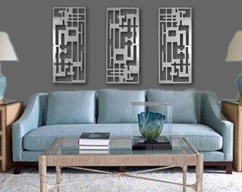 Delightful House · Kitchen Metal WallAbstract Metal Wall ArtAbstract ArtModern ...