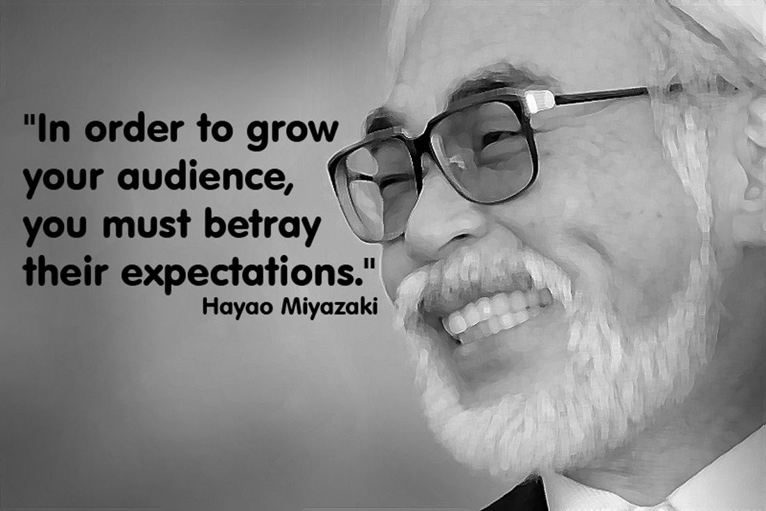 essay about hayao miyazaki This transcription of an interview with famed animated film director miyazaki hayao was originally published by studio ghibli in their monthly magazine neppu, in a special issue on constitutional amendment constitutional amendment is out of the question.