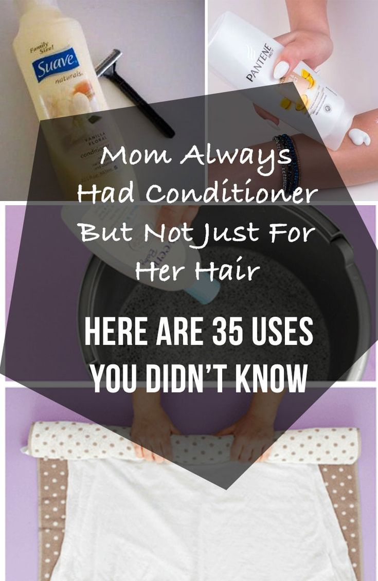 There are so many great uses for conditioner that you didn't know. It isn't just great for your hair, but you can use it solve so many problems at home. We are want to say thanks if you like to share this post to another people via your facebook, pinterest, google plus […]