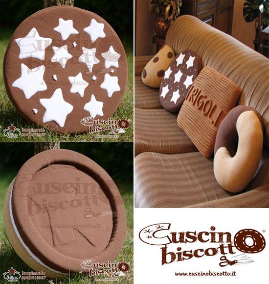 Cuscini Biscotto Mulino Bianco.Cuscino Biscotto I Cuscini Golosi Handmade Ecco Dove Acquistarli