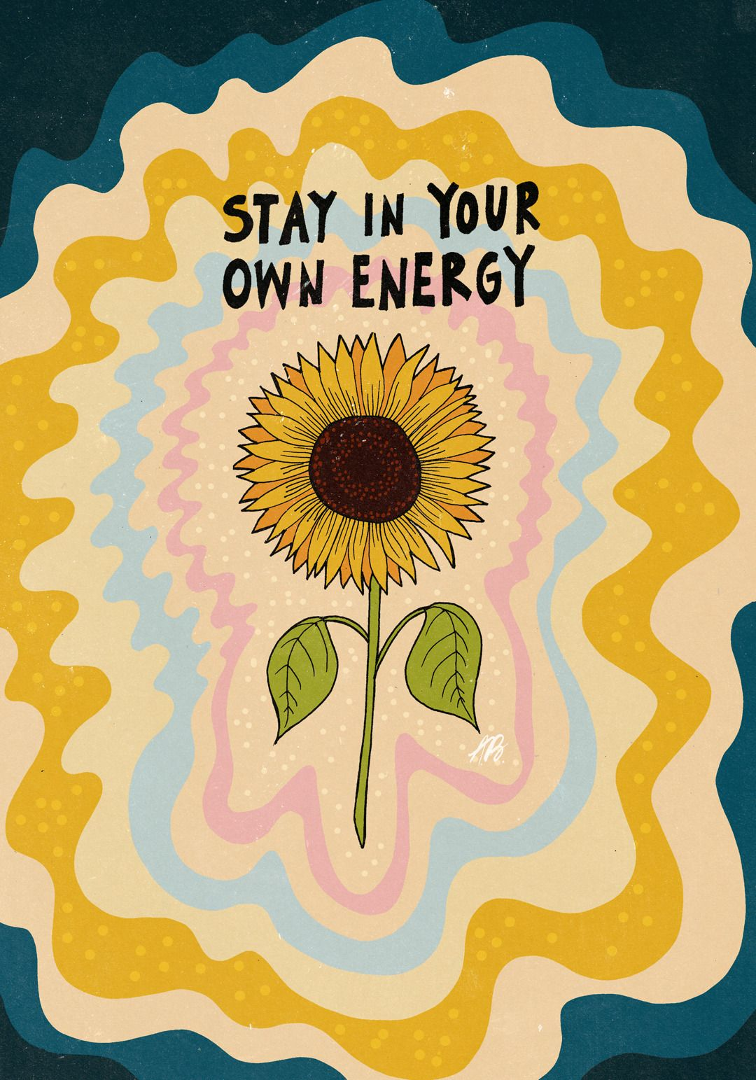 inkflowergarden: Stay in your own energy. on We Heart It