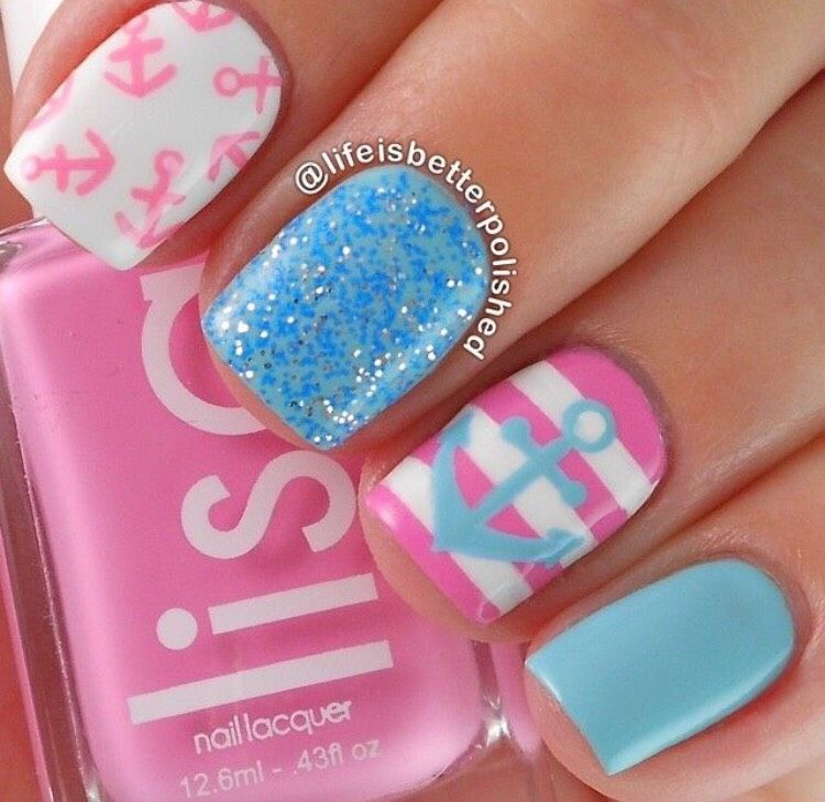 💅Some Nail Ideas💅 | Nail nail, Mani pedi and Nail color designs