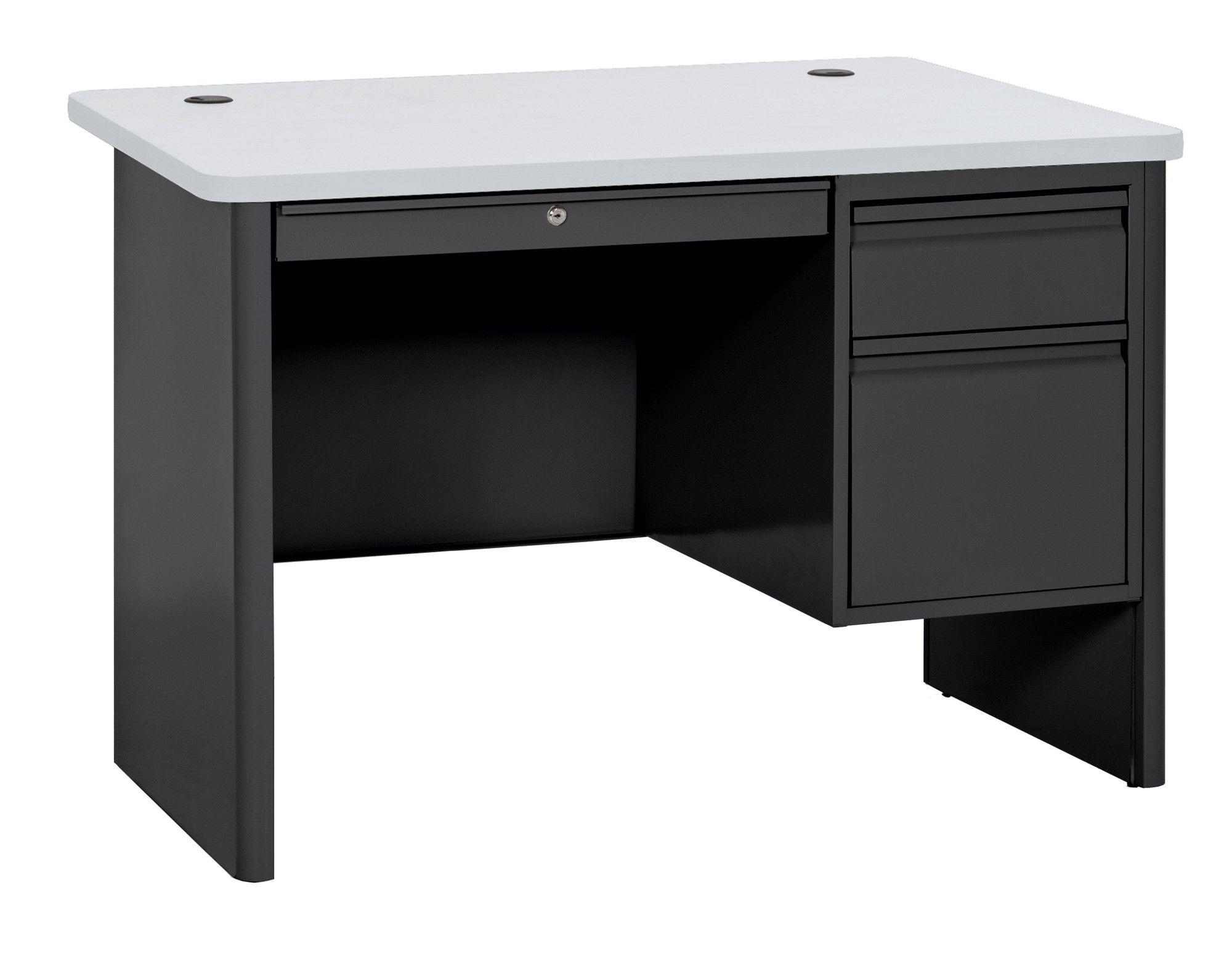 700 Series Single Pedestal Computer Desk Desk Pedestal Desk