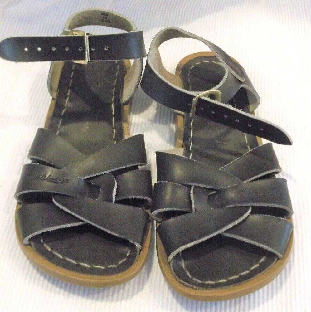 (eBay Sponsored) Salt Water Sandals Size 13 Brown Leather
