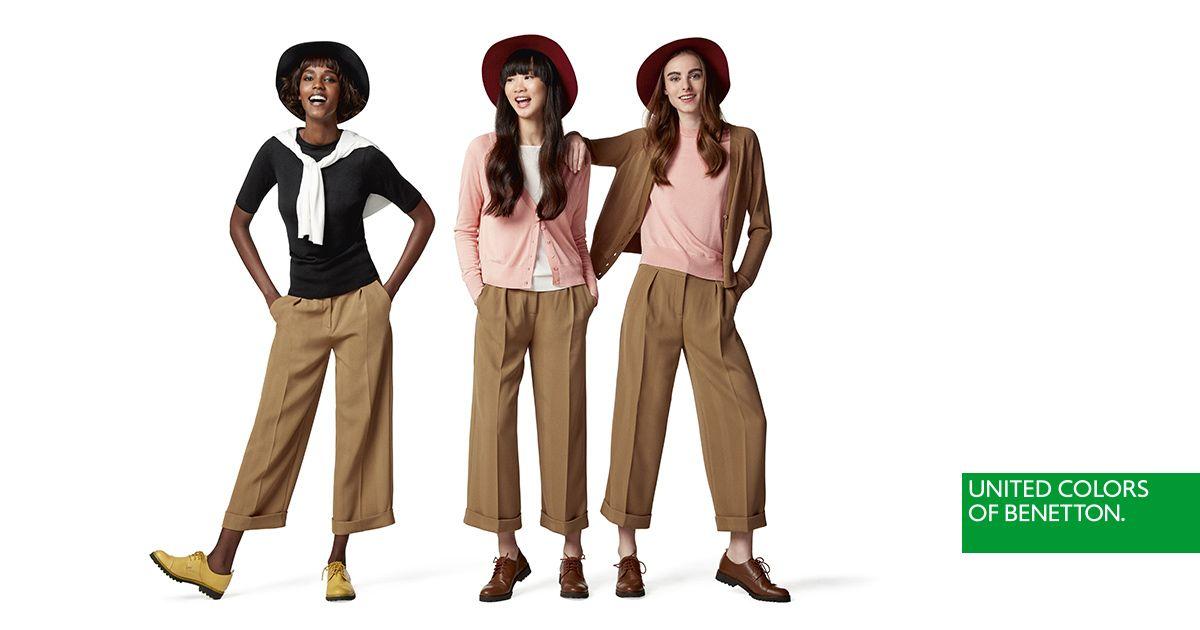 db7d193e3 Colección de Mujer | Stylo !!!!!!! | Vestidos, Benetton y Otoño 2017