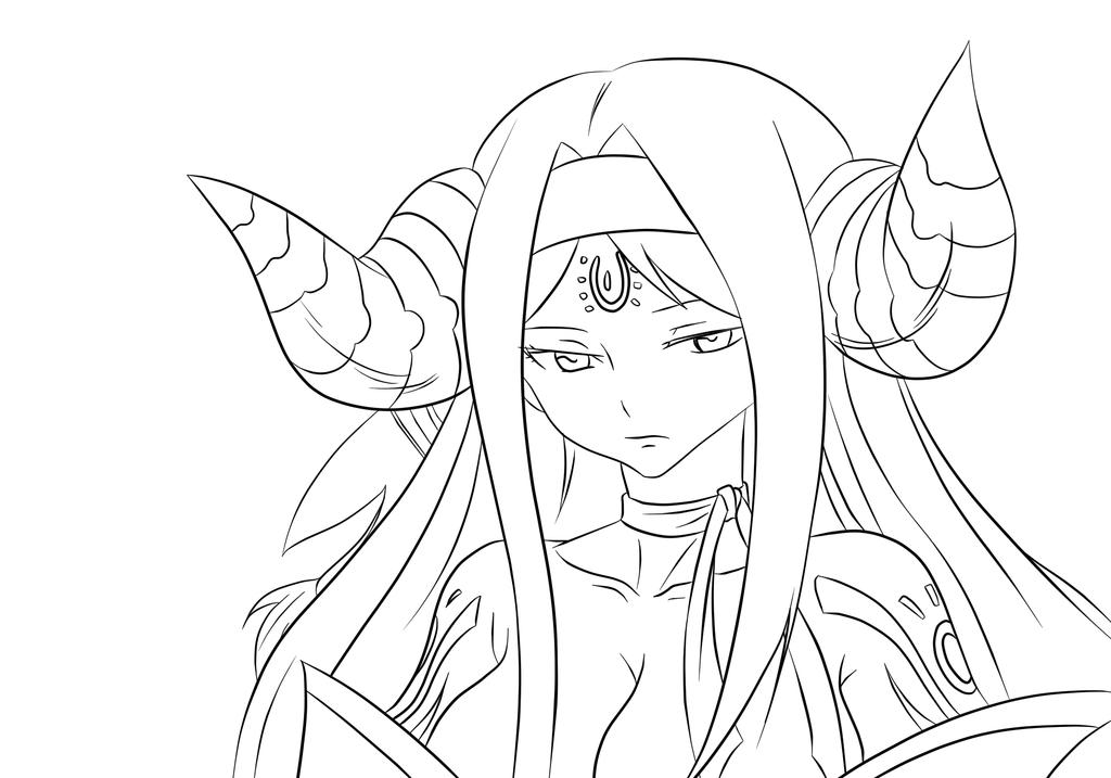 Seira - Fairy Tail Lineart by SooCatArt | Fairy tail ...