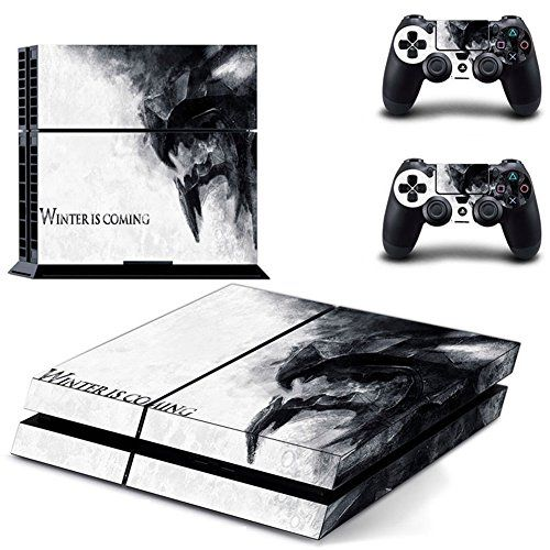 Winter Is Comingdesigner Skin For Sony Playstation 4 Console